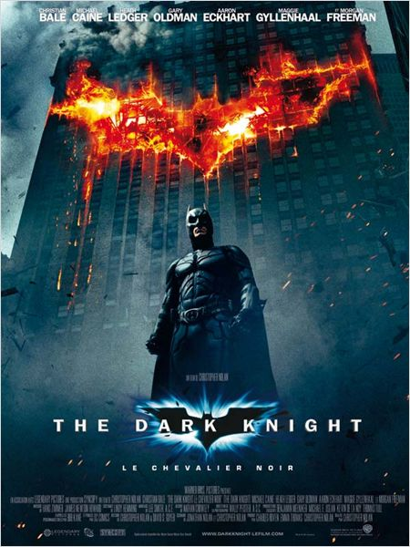 the dark knight affiche