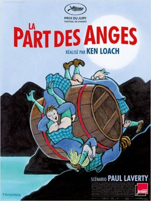 LA PART DES ANGES AFFICHE