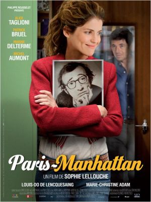 PARIS MANHATTAN AFFICHE
