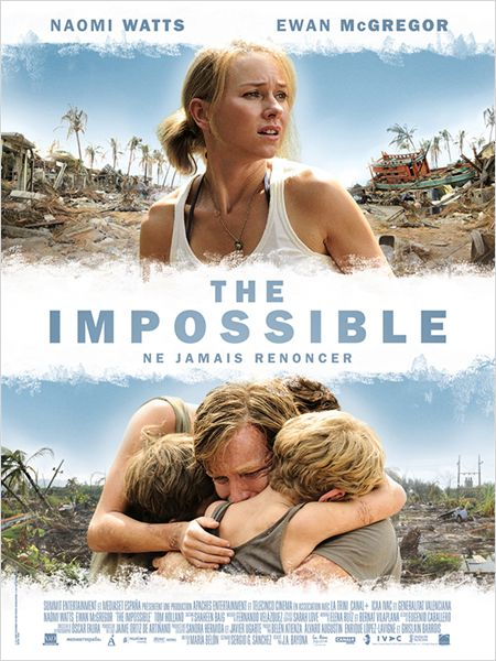 THE IMPOSSIBLE AFFICHE