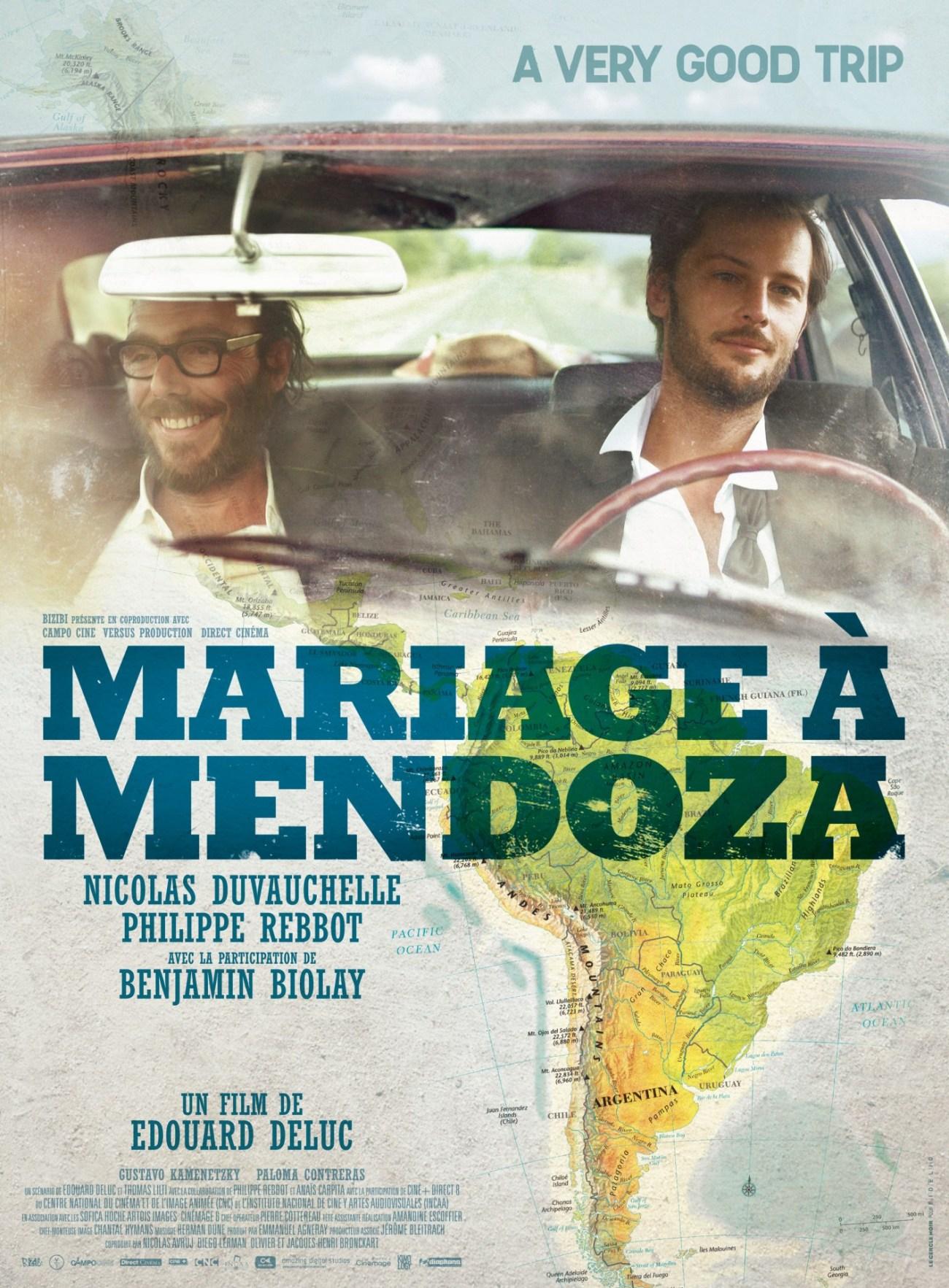 MARIAGE A MENDOZA AFFICHE
