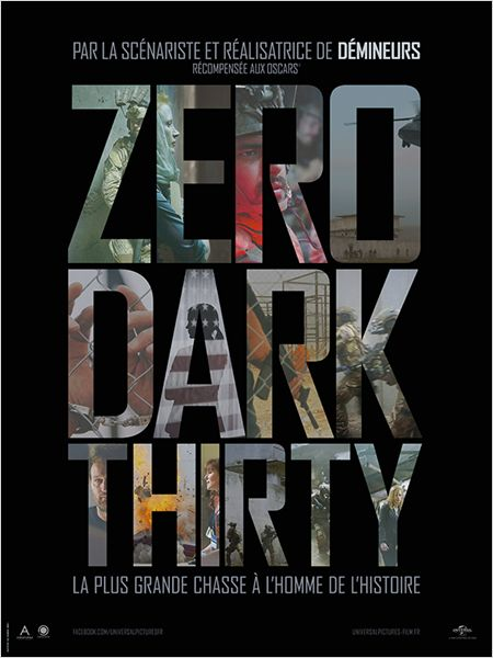 ZERO DARK THIRTY AFFICHE