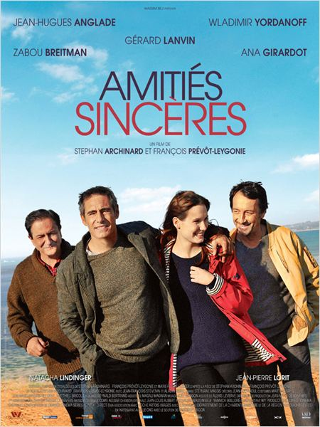 AMITIES SINCERES AFFICHE