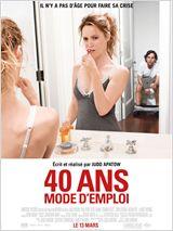 40 ANS MODE D'EMPLOI AFFICHE MINI