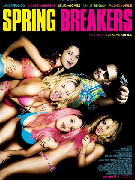 SPRING BREAKERS AFFICHE