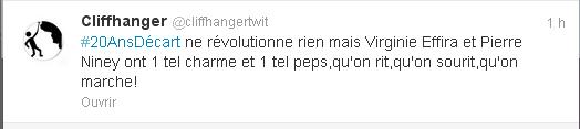 tweet 20 ANS D'ECART