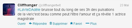 tweet la vie d'adèle