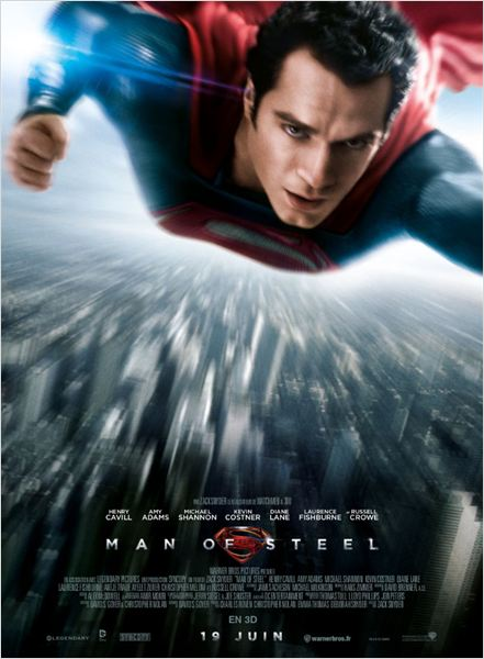 MAN OF STEEL AFFICHE