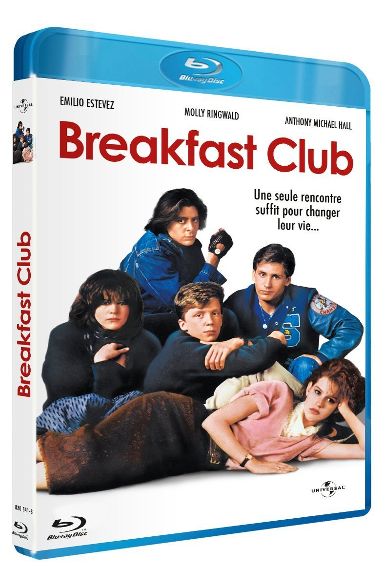 BREAKFAST CLUB BLU RAY