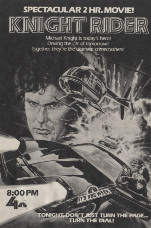 Knight Rider Pilot Movie TV Ad
