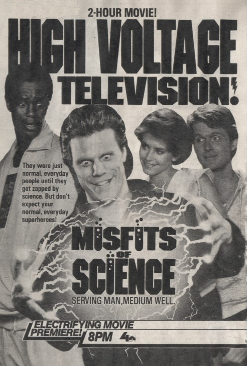 Misfits Of Science Series Premiere TV Ad
