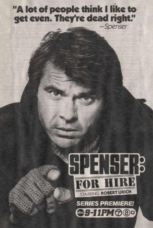 Spenser For Hire Series Premiere TV Ad