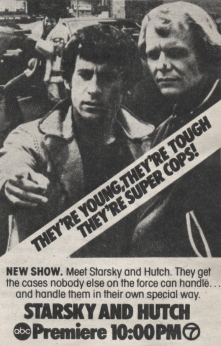Starsky And Hutch Series Premiere TV Ad