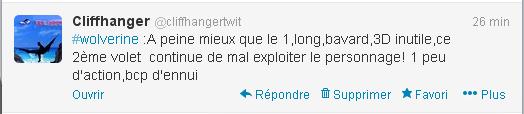Tweet wolverine