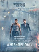 WHITE HOUSE DOWN AFFICHE MINI
