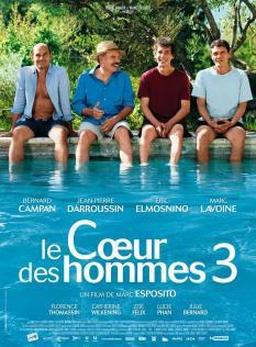 LE COEUR DES HOMMES 3 AFFICHE
