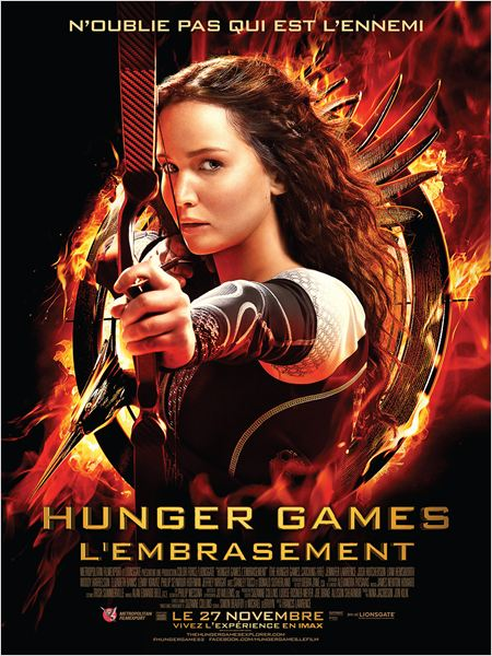 HUNGER GAMES 2 AFFICHE