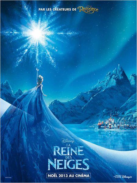 la reine des neiges affiche