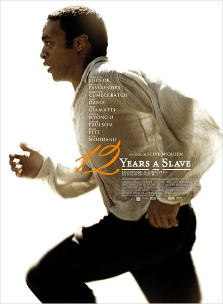 12 YEARS A SLAVE AFFICHE