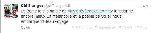 tweet la vie revee de walter mitty 2