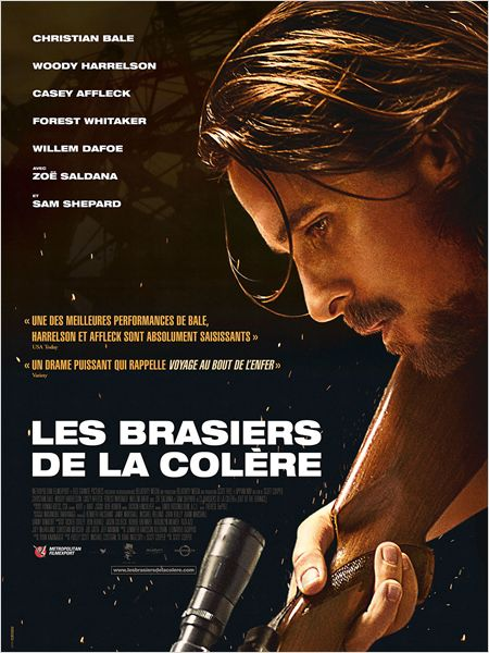 LES BRASIERS DE LA COLERE AFFICHE