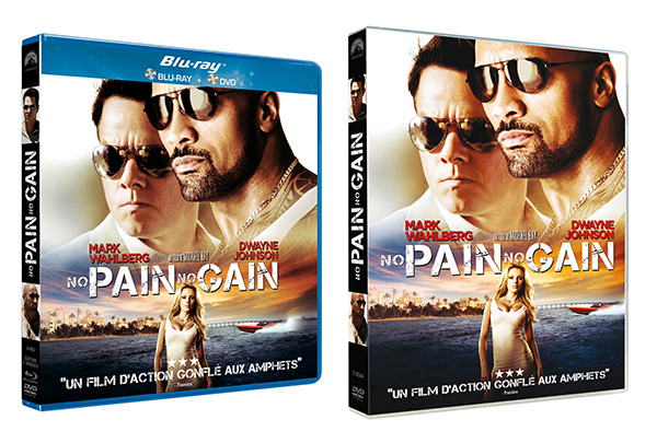 NO PAIN NO GAIN DVD