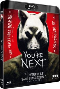 YOU'RE NEXT AFFICHE BLU RAY MINI