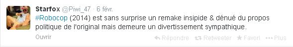 tweet robocop 2014