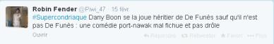tweet supercondriaque