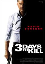 3 days to kill affiche mini