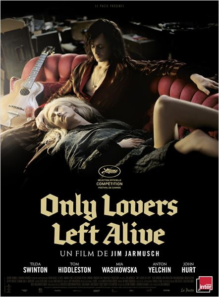 only lovers left alive affiche