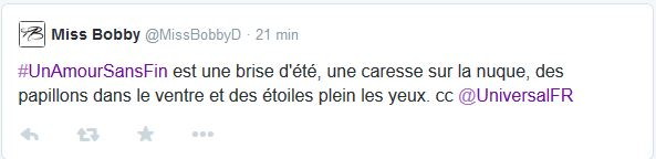 tweet un amour sans fin