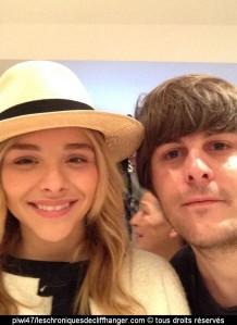 selfie chloé moretz