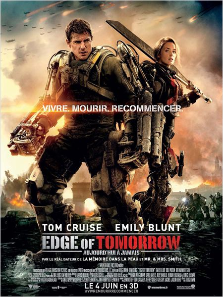 edge of tomorrow affiche