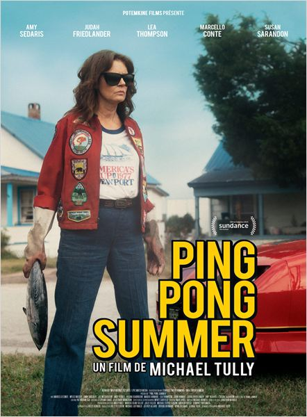 PING PONG SUMMER AFFICHE FRANCE