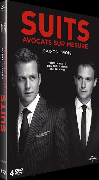 SUITS SAISON 3 DVD