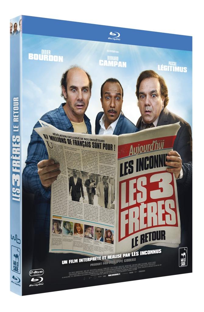 Pack 3D BR Les Trois Frères le retour