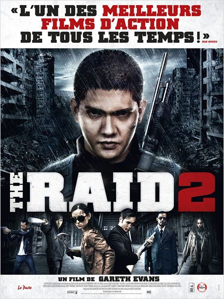 THE RAID 2 AFFICHE
