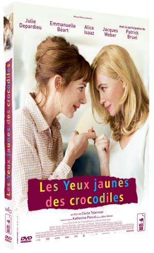LES YEUX JAUNES DES CROCODILES_FOURREAU DVD 3D web