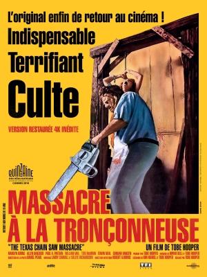 MASSACRE A LA TRONCONNEUSE - Affiche