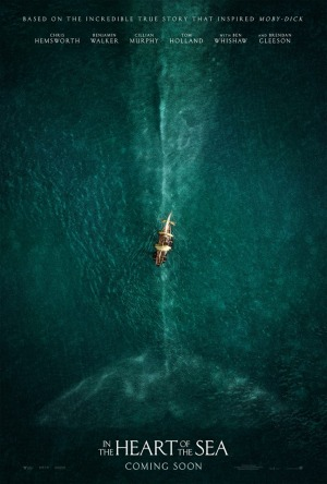 in the heart of the sea affiche teaser