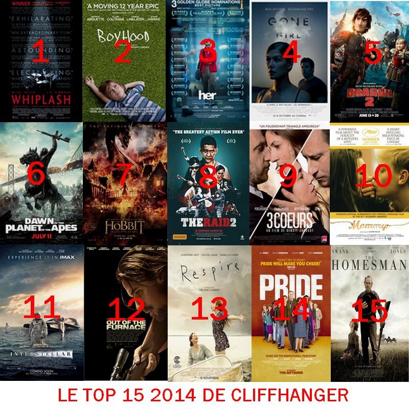 LE TOP 15 2014 DE CLIFFHANGER