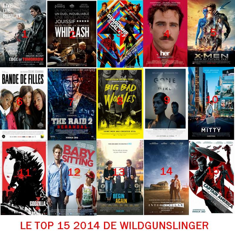 LE TOP 15 2014 DE WILDGUNSLINGER