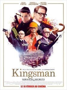 kingsman services secrets affiche