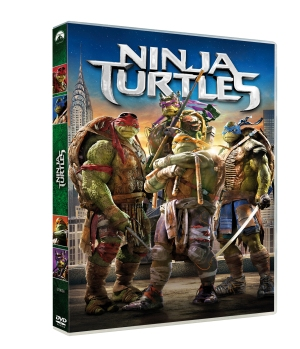 NINJA TURTLES - DVD - 3D - 3333973190360