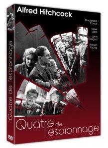 QUATRE DE L'ESPIONNAGE DVD