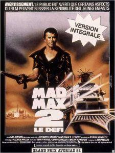 MAD MAX 2 AFFICHE