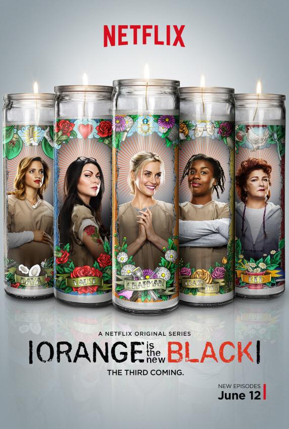 Poster Orange is the new black saison 3 les chroniques de Cliffhanger