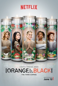 Poster Orange is the new black saison 3 les chroniques de Cliffhanger