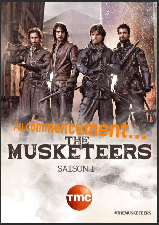 the musketeers affiche